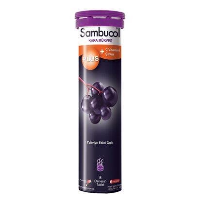 sambucol plus 15 efervesan tablettakviye 4e21