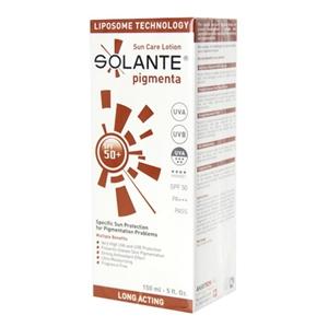 solante pigmenta lotion spf 50 150 ml solante 83794 16 o