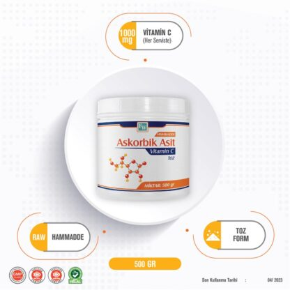 c vitamini askorbik asit 500 gr 55cd7e